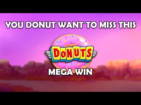 MEGA WIN ON DONUTS (Big Time Gaming)