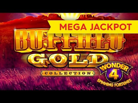 MEGA JACKPOT HANDPAY! Wonder 4 Spinning Fortunes – Buffalo Gold Collection Slot!