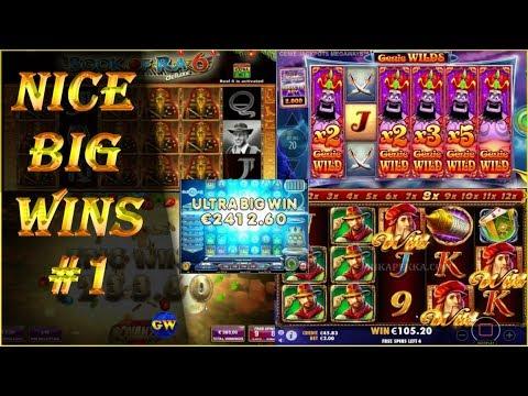 Nice big wins #1 / 2019   casino streamers, online slots.