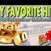 ** SUPER BIG WINS ** TOP 10 LINE HITS OVER $5,000 IN WINS | 5K SUBS CELEBRATION | SlotTraveler