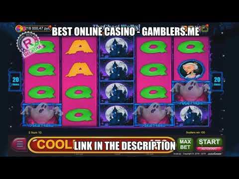 OMG! MEGA BIG WIN in free games! 700x bet! Online casino slot machine THE GHOST WALKS
