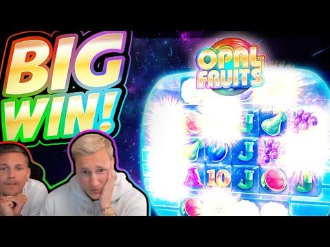 BIG WIN!!! Opal Fruits BIG WIN!! Casino Slot from CasinoDaddy Live Stream