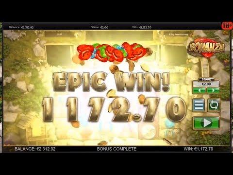 Big Time Gaming slots Bonanza MEGA WIN x586