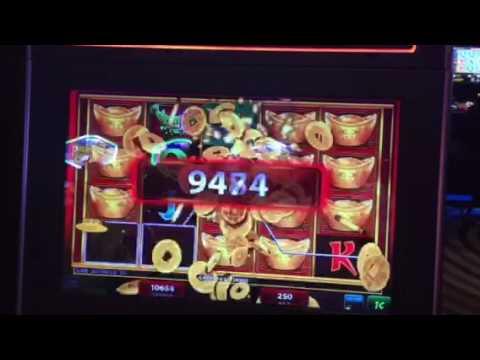 Fortune Ingot Slot Machine Line Hit Big Win Lucky Eagle Casino