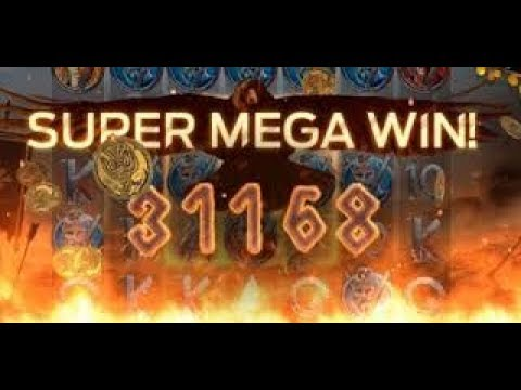 Vikings Video Slot SUPER MEGA WIN 10 euro bet