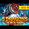 5 Dragons Grand Slot – BIG WIN BONUS – VICTORY!