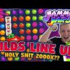MEGA WIN!!! BIGGEST WIN?!? JAMMIN JARS BIG WIN – Huge Win on Casino Games