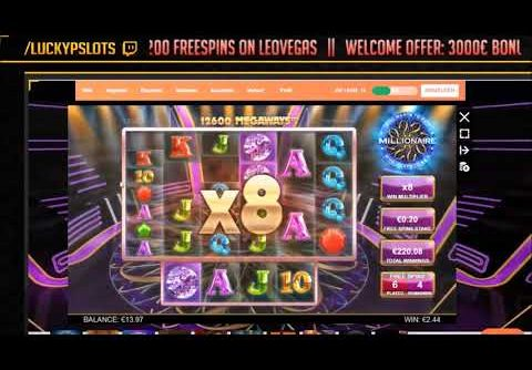 Who Wants to Be a Millionaire Slot Big Win Compilation | Big Time Gaming