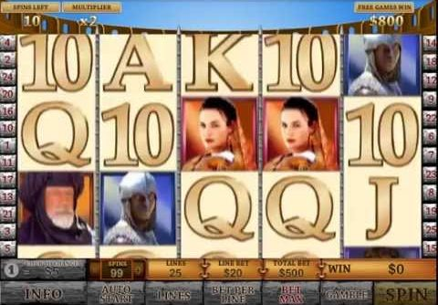 Gladiator Slot – Mega Big Win Bonus
