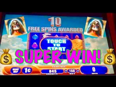 SUPER BiG WIN!!! KRONOS WMS SlOT MACHINE BONUS!!!