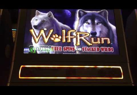 Wolf Run Slot Machine Live Play ** Super BIG WIN**