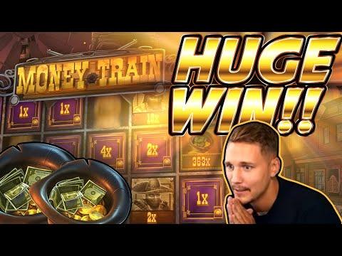 HUGE WIN!! Money Train BIG WIN!! Online Slot from CasinoDaddy Live Stream