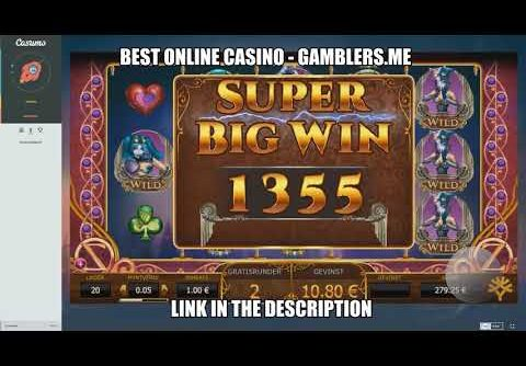RECORD WIN! Casino Big Win, €1 bet on Casumo Online Slot Machine