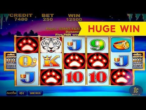 White Tiger Slot – 5 SYMBOL TRIGGER – BIG WIN BONUS!