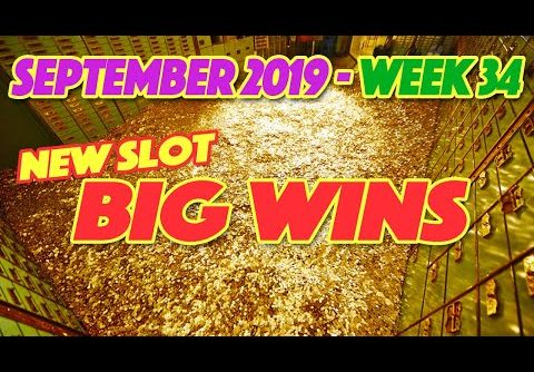 Biggest NEW Slot Wins! ~ September 2019 (week 34). A compilation of Big Wins playing New Slots!