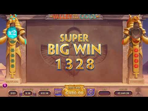 €1672 Valley of the Gods Slot BIG WIN