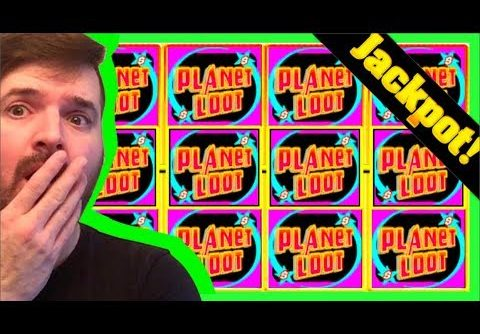 BIGGEST WIN ON YOUTUBE 🚀on Return To Planet Loot Slot Machine W/ SDGuy1234