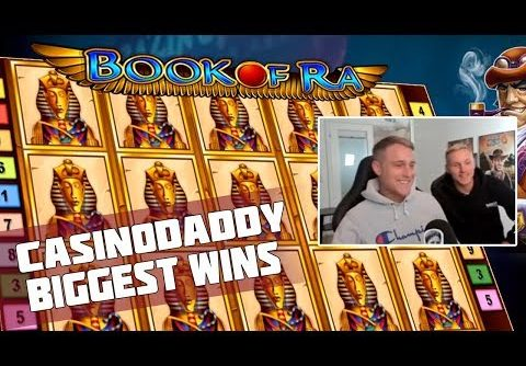 Big Win from Joker | Casinodaddy – Biggest Wins! Book of Ra Slot!