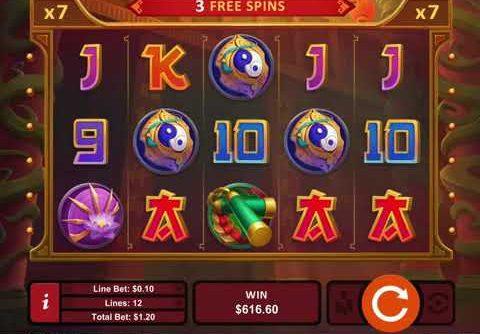 Kung Fu Rooster Online Casino Slot Mega Huge Win!.mp4