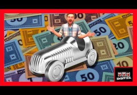 I WON A NEW CAR! Monopoly Super Grand Hotel Slot Machine Bonuses With SDguy – Big Wins!