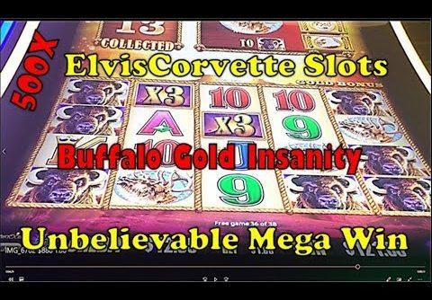Buffalo Gold |  Mega Win | Going After 15 Golden Heads | 500X My Bet