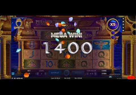 "Pyramid Casino Slot ""Mega Win"""