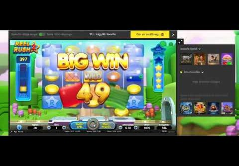 🔥 Reel Rush 2 – New slot from NETent, testing with low stake (Has potential!)