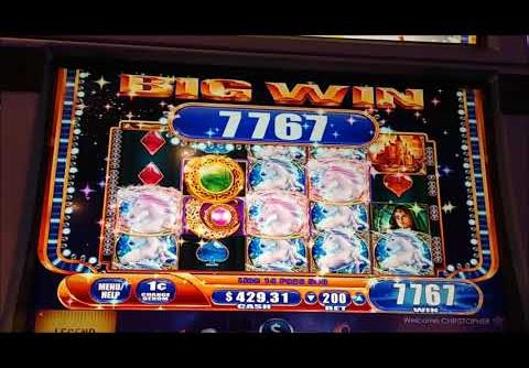 Mystical Unicorn Slot Nice Session – MEGA WIN!