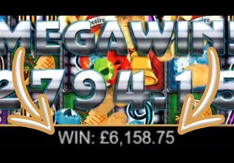 Online Slots BIG Win + £6.158,75 [CRAZY INSANE WIN]