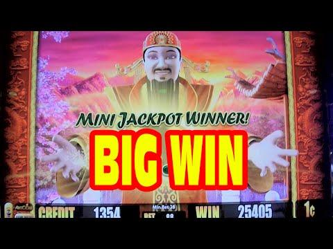 5 Dragons * SUPER BIG WIN * Slot Machine Bonus & Good Fortune Jackpot Feature