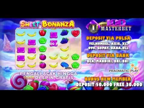 Sweet Bonanza BIGWIN Slot dalam Agen Slot Deposit Pulsa Masterbet188