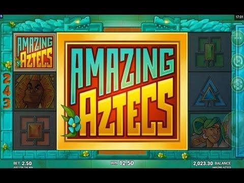Several Big Wins on the New Amazing Aztecs Online Slot