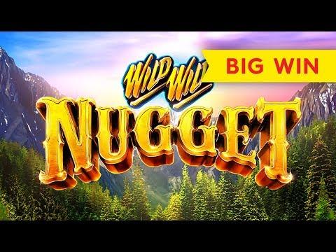 Wild Wild Nugget Slot – BIG WIN BONUS!