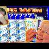 MOM CLEANS UP WITH A 'SUPER BIG WIN'!! MYSTICAL UNICORN! RETRIGGER! Slot Machine Bonus