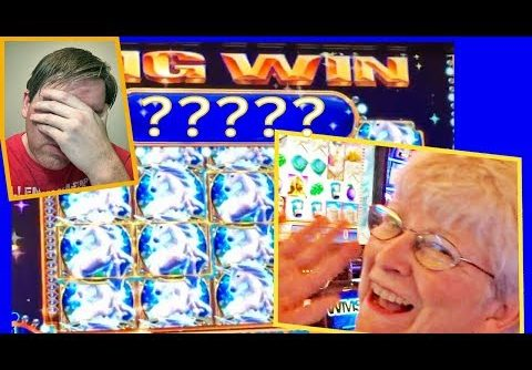 MOM CLEANS UP WITH A 'SUPER BIG WIN'!! MYSTICAL UNICORN! RETRIGGER! Slot Machine Bonus