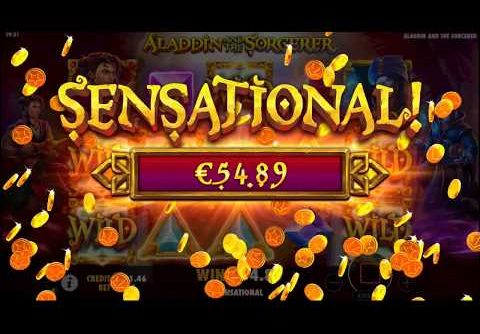 Aladdin and the Sorcerer Slot By Pragmatic Play – Big Win