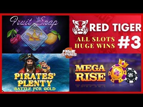 Pirates Plenty slot  mega win, Mega Rise red tiger big win, Fruit Snap big win #3