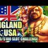 UK vs USA Slot Challenge – Giants Gold Slot Biggest Bonus Wins