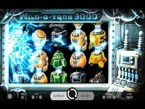NetEnt's New Wild-O-Tron 3000 Slot – Big Wins!