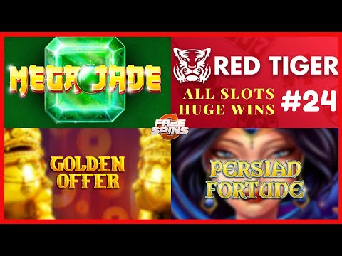 Persian Fortune big win, Mega Jade slot mega win, GOLDEN OFFER  Red Tiger gaming #24