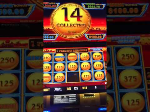 Sahara Gold Lightning Link Slot Machine Bonus. Huge Win 10c den.
