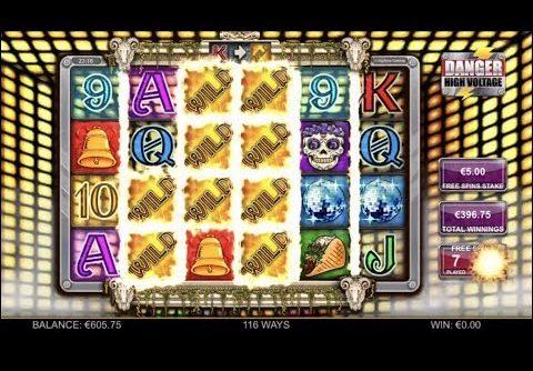 Danger High Voltage Slot Bonus Mega Win