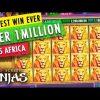 GAMBINO SLOTS – BIGGEST SLOT WIN EVER OVER $1 MILLON CAUGHT LIVE!