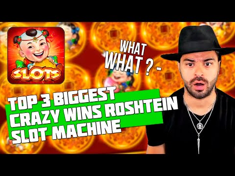 TOP 3 BIGGEST CRAZY WINS IN CASINO | ROSHTEIN | 88 FORTUNES SLOT MACHINE