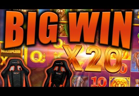 BIG WIN on SAFARI GOLD MEGAWAYS Slot – Casino Stream Big Wins