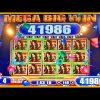 FULL SCREEN MEGA BIG WIN DESERT MOON SLOT MACHINE BONUS Wms Slots