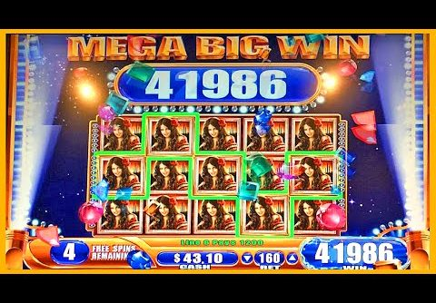 FULL SCREEN MEGA BIG WIN DESERT MOON SLOT MACHINE BONUS Wms Slots