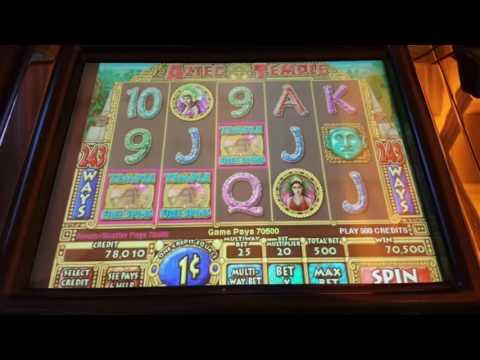 **huge bonus win** didn't record it though. Aztec temple slot machine