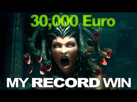 My record Win – 30,000 EURO in MEDUSA 2 slot