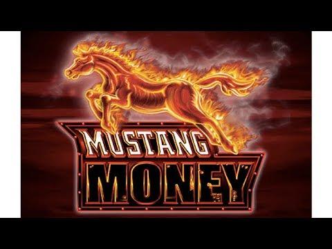 SUPER RARE HIT!  BIG-BIG WIN!  MUSTANG MONEY SLOT MACHINE POKIE  PECHANGA CASINO